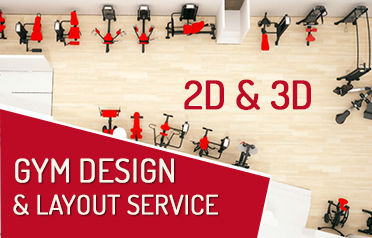 2D and 3D Gym design and layout service