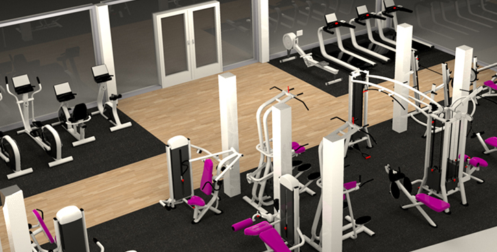 Gym fit outs