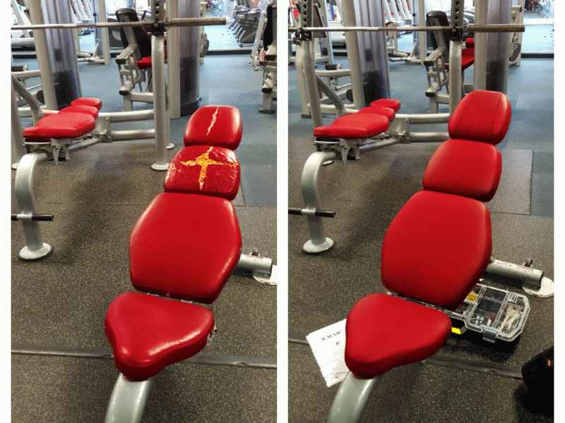 Servicing, Repairs, Maintenance, Gym Equipment Modifications and Re-Upholstery