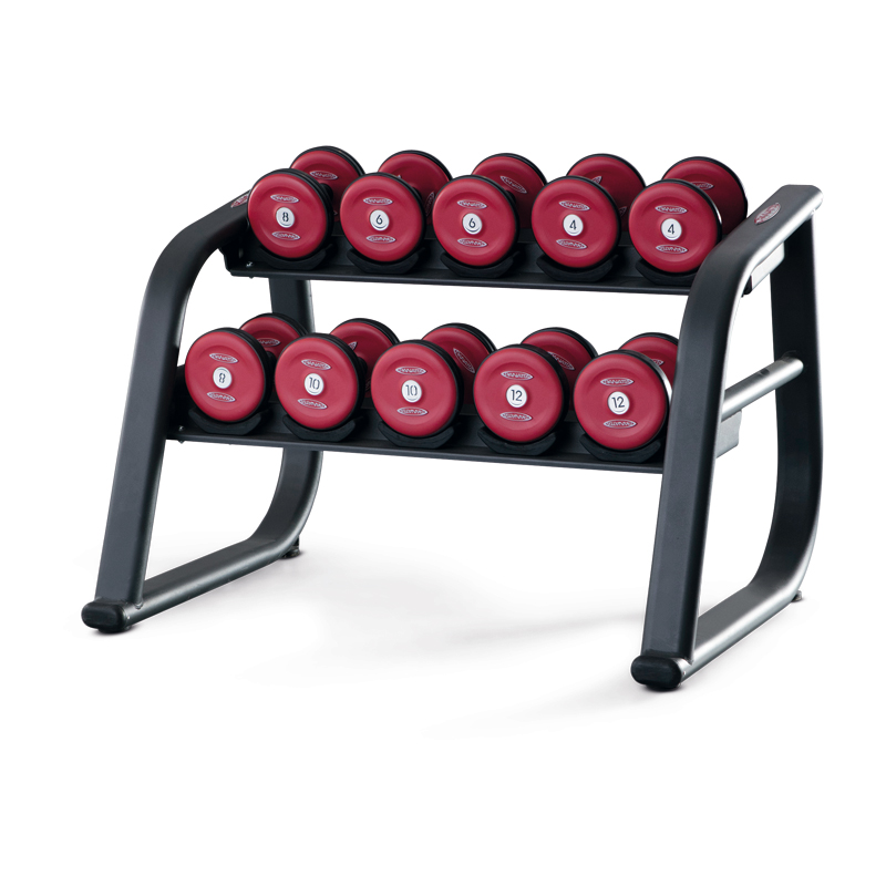 Dumbbell Rack 110 cm Rubberised