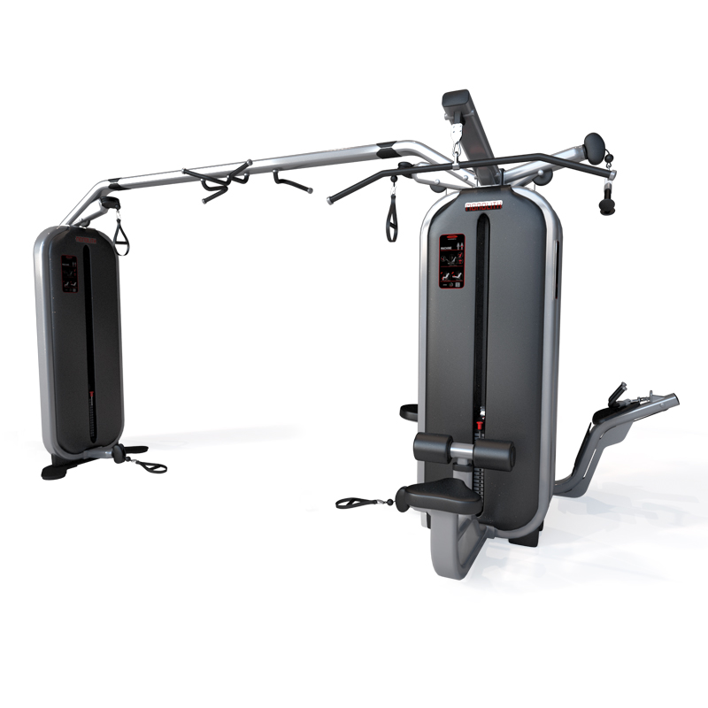 Jungle Multi Gym Station and 4 Station Multi Gym with Joint Bar