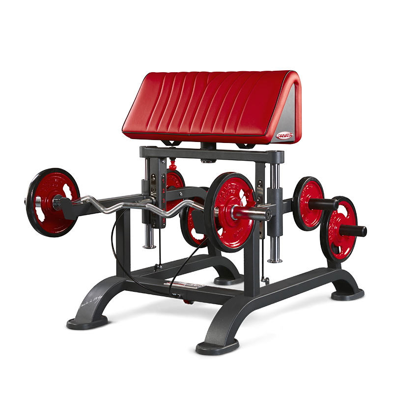 Adjustable Standing Biceps Curl Bench