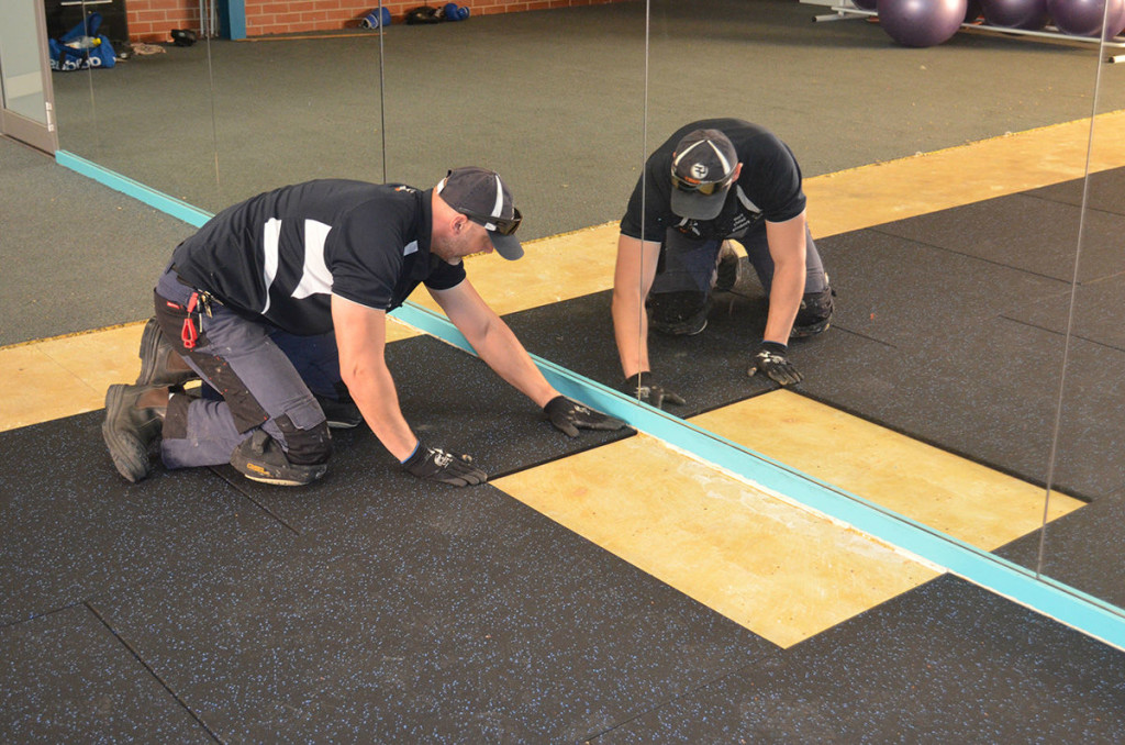 Commercial Gym Flooring Solutions