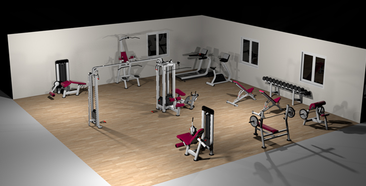 Gym layout